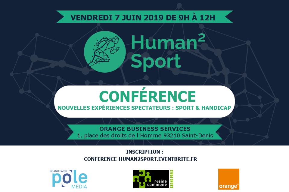 Conférence Human2Sport
